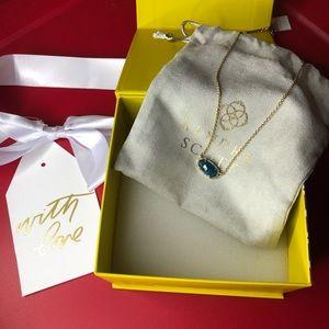 Kendra Scott Aqua Necklace